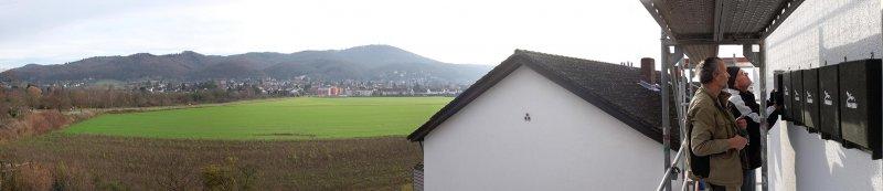 Panorama vom Trafoturm