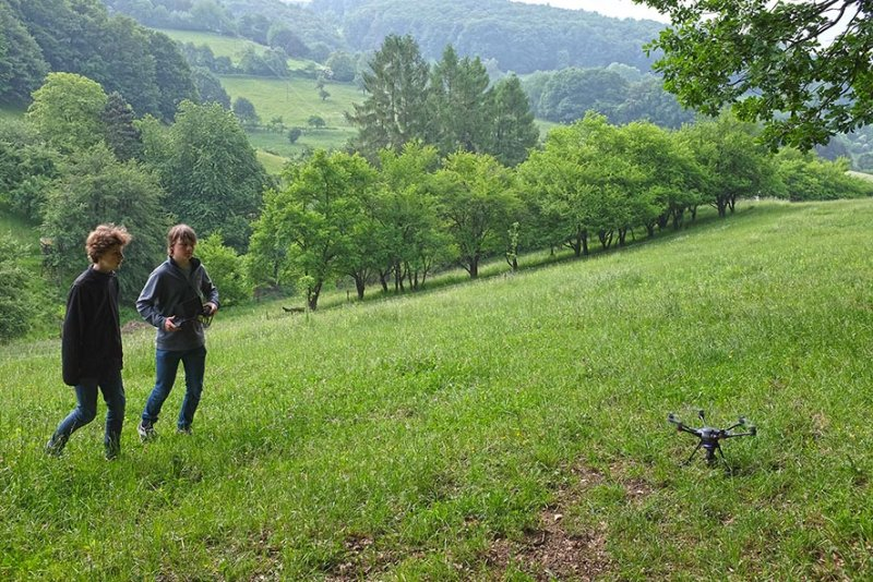 Kitzretter-Training Wallhausen 5
