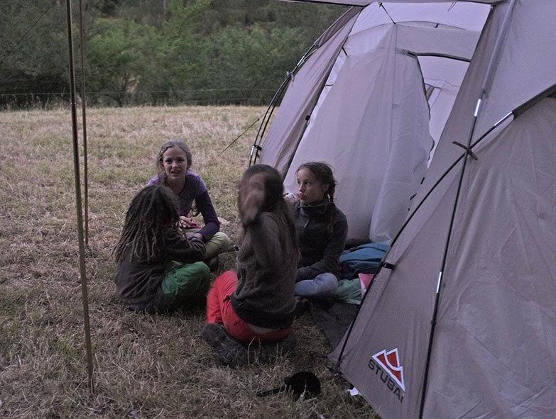 64 NAJU Sommerlager Lagerfeuer