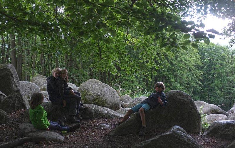 16 NAJU Sommerlager Wanderung zum Felsberg bei Reichenbach