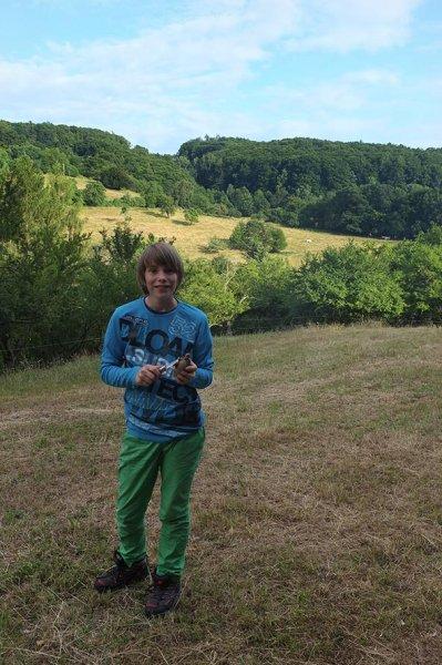 18 NAJU Sommerlager Lagerfeuer - Tobias