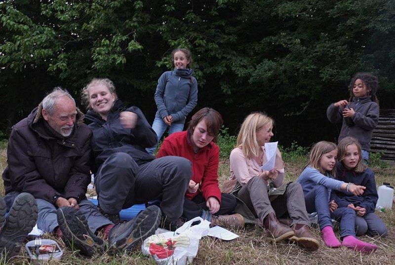 48 NAJU Sommerlager Lagerfeuer