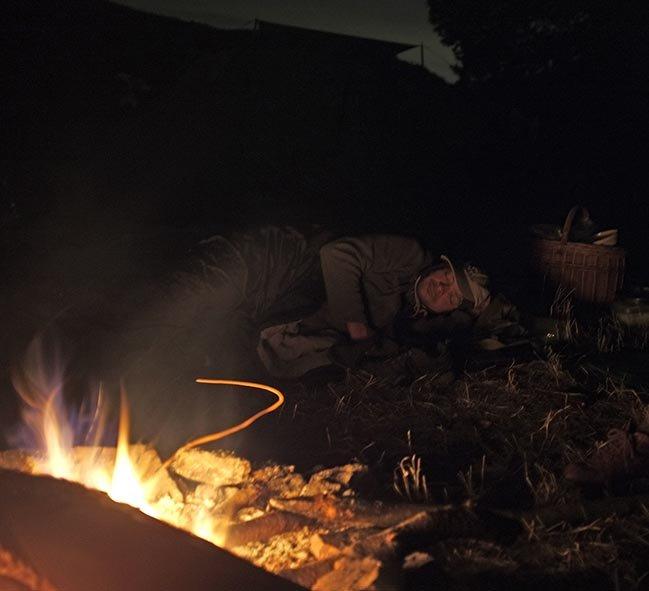 68 NAJU Sommerlager Wallhausen - Nachts am Lagerfeuer