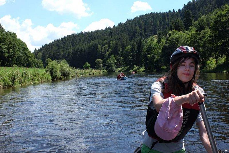 auf dem Fluss 45 10x15