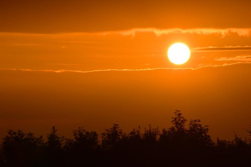 Sonnenuntergang am Hofgut Mappen 2