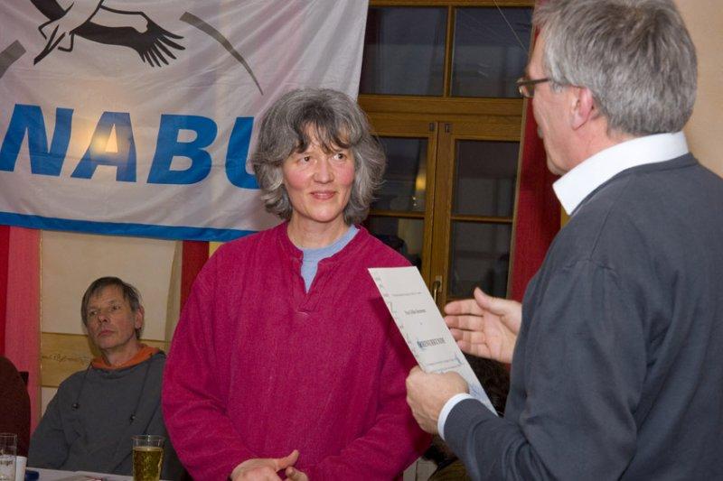 Auszeichnung Ulrike Steinmetz 2