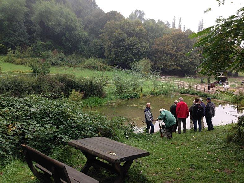 Treffen der Vogelschutzbeauftragten - Hermelinweiher 2
