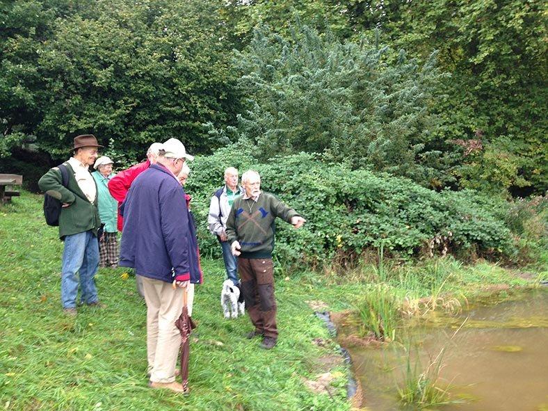 Treffen der Vogelschutzbeauftragten - Hermelinweiher 6
