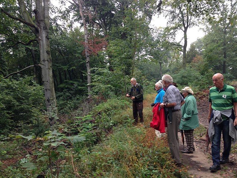 Treffen der Vogelschutzbeauftragten - Wald 1