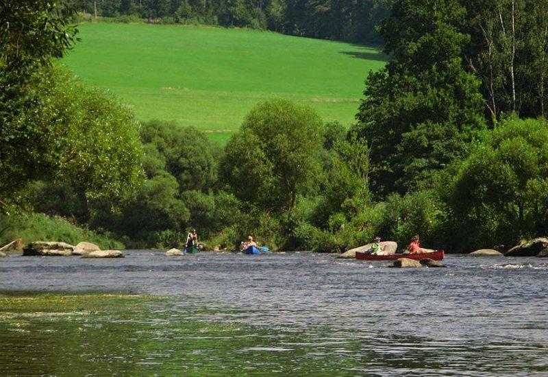 Auf dem Fluss 10 10x15