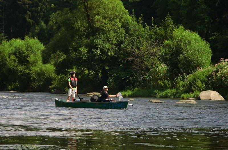 Auf dem Fluss 12 10x15