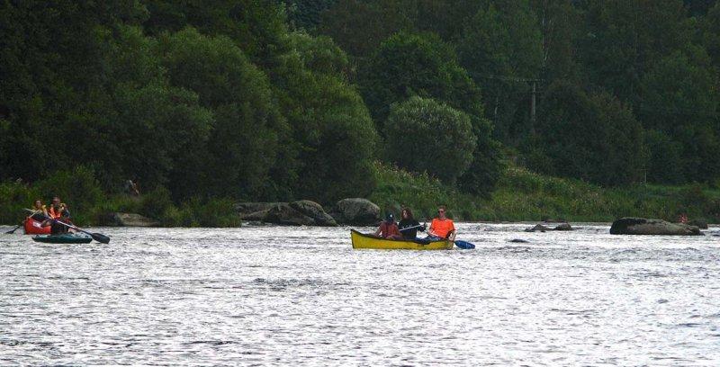Auf dem Fluss 3 10x17
