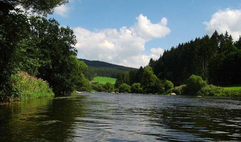 Auf dem Fluss 7 10x17