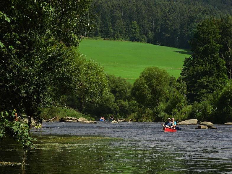 Auf dem Fluss 8 10x13
