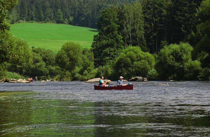 Auf dem Fluss 9 10x15