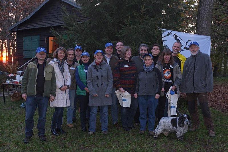 Foto: NABU/Tino Westphal - Teilnehmer am Starkmacher-Seminar Seeheim.
