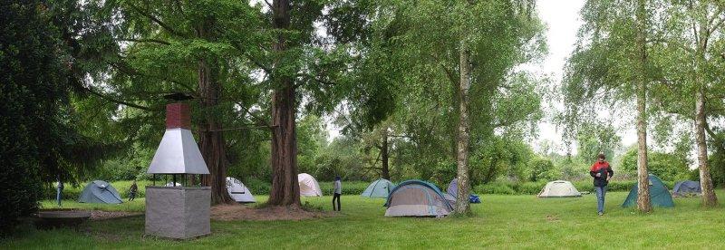 Camp Mückenplage am Morgen 2
