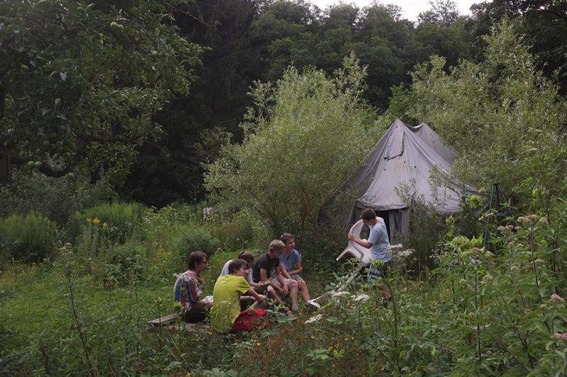 NAJU Gruppe Lager Etzwiesen
