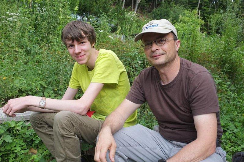 NAJU Gruppe Lager Etzwiesen - Dennis und Tino