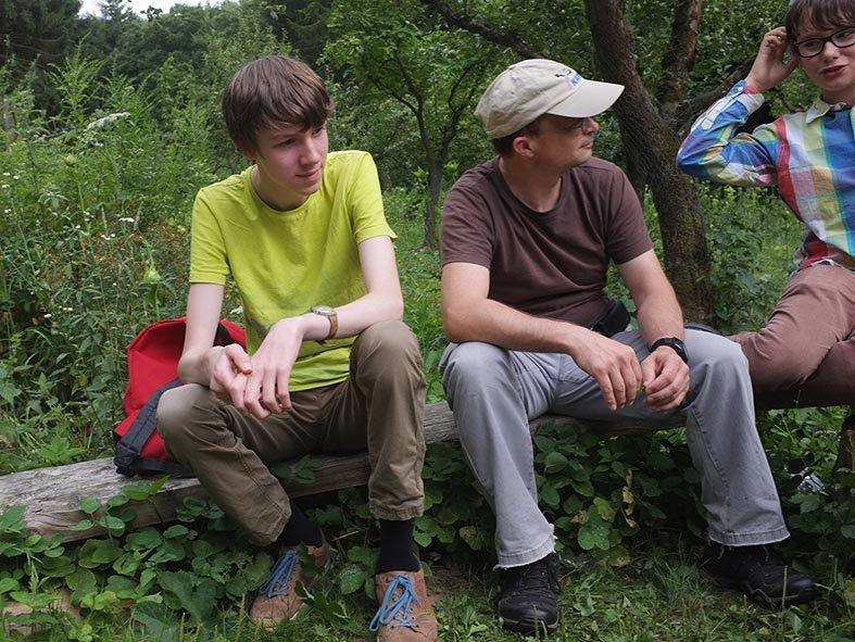 NAJU Gruppe Lager Etzwiesen - Dennis Tino Jan