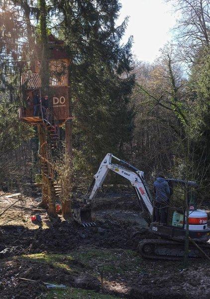 Baggereinsatz Etzwiesen 32 10x14s