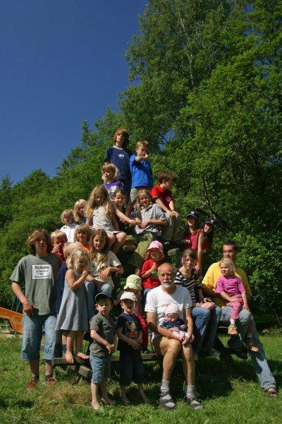 Die Wühlmaus-Pyramide - Gruppenbild 2006