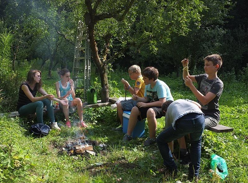 Lagerfeuer Etzwiesen 1