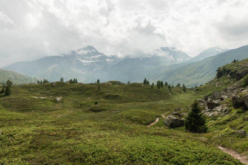 08 Blick über das Hochplateau auf dem Simplonpass