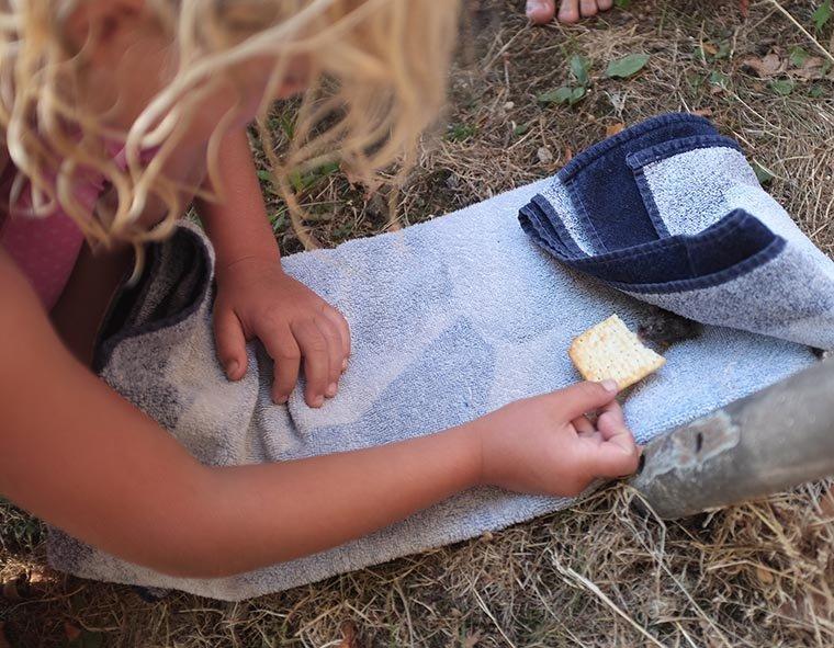 07 Nasse Maus wird von Mädchen gerettet 1