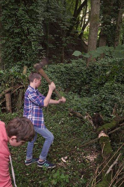 Zaunbau Etzwiesen 2