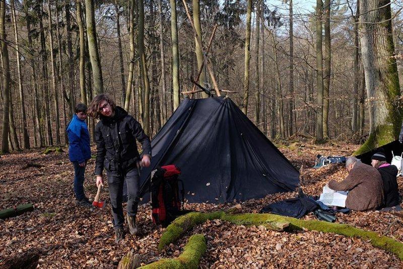 Abbau Wühlmaus-Lager 1