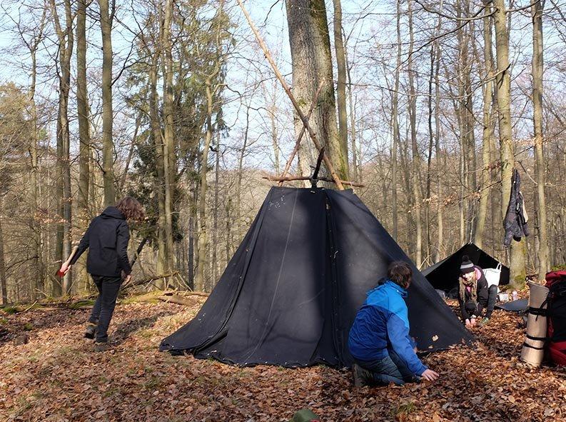Abbau Wühlmaus-Lager 3