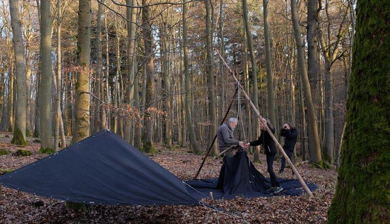 Aufbau Wühlmaus-Lager 07