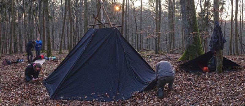Aufbau Wühlmaus-Lager 10