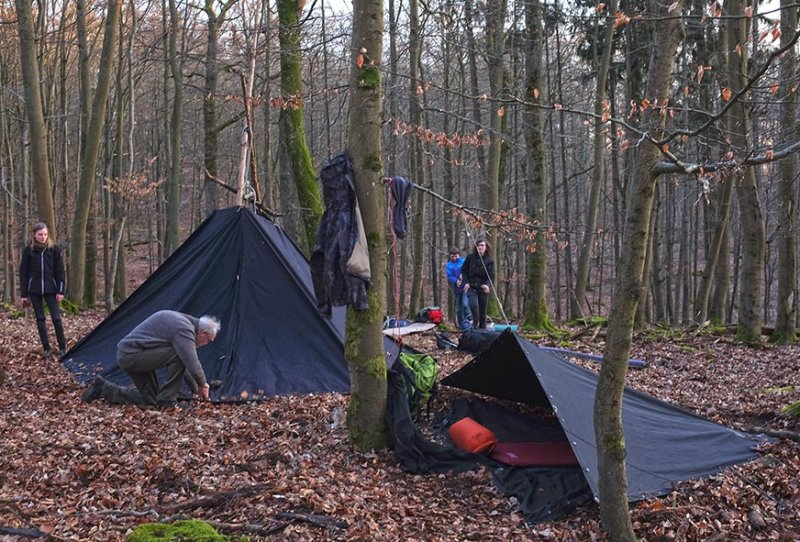 Aufbau Wühlmaus-Lager 11