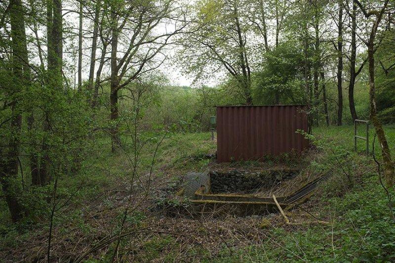 Pfungstädter Moor - stillgelegtes Anlage zur Wieder-Vernässung und Hochwasser-Überlauf aus Bickenbach.