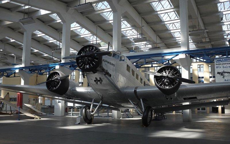 03 Junkersmuseum Dessau - Ju52