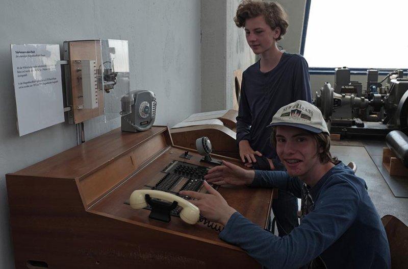03 Junkersmuseum Dessau - Telefonzentrale 1