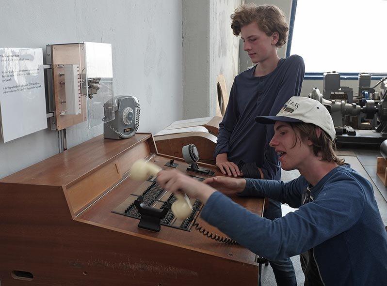 03 Junkersmuseum Dessau - Telefonzentrale 2