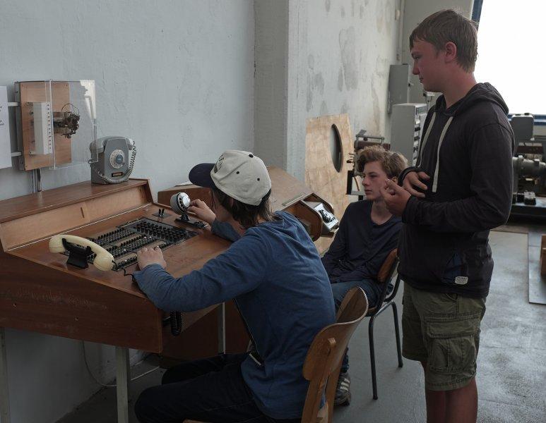 03 Junkersmuseum Dessau - Telefonzentrale 4