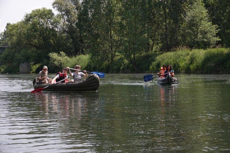 Anfängerpaddeln Altrhein 1