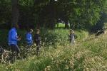 Weide am Bieberwoog - Drohne im Aufbau 4