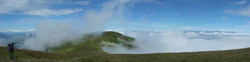 04 Nach dem Regen - Blick auf Hohe Tatra