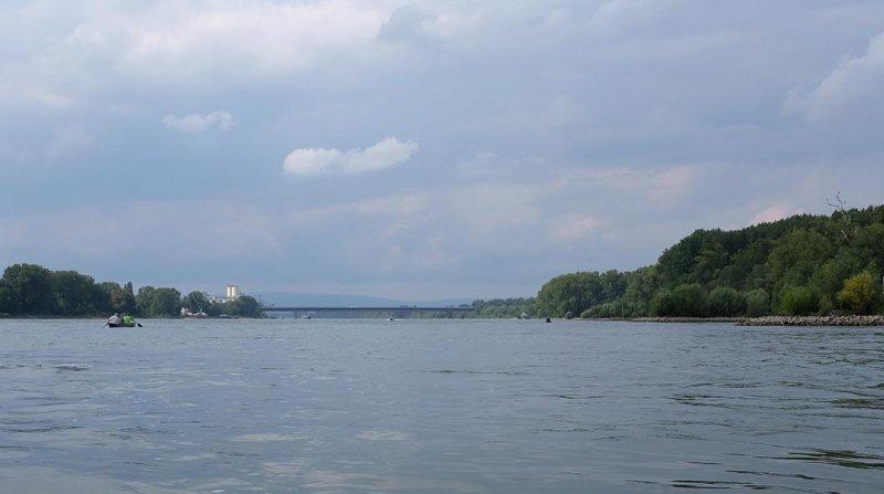 Rückfahrt Rhein