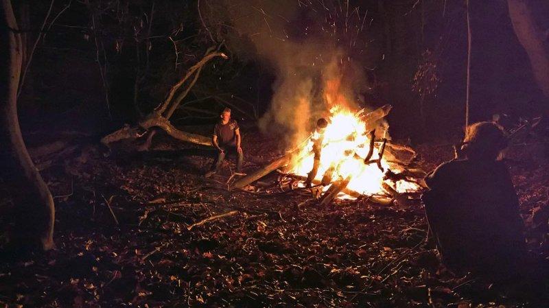 Nacht am Feuer 12