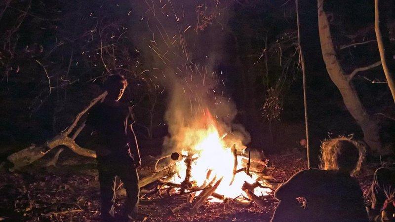 Nacht am Feuer 14