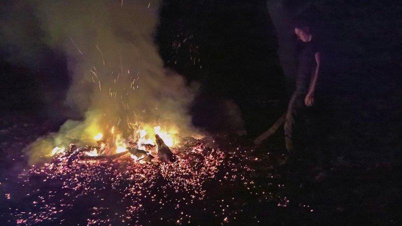 Nacht am Feuer 15