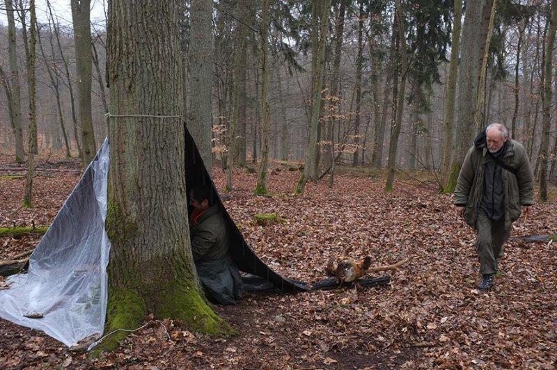 06 Wühlmaus-Camp im Wald