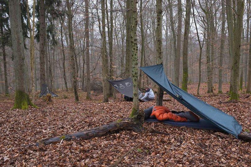 02 Wühlmaus-Camp im Wald - Gintas