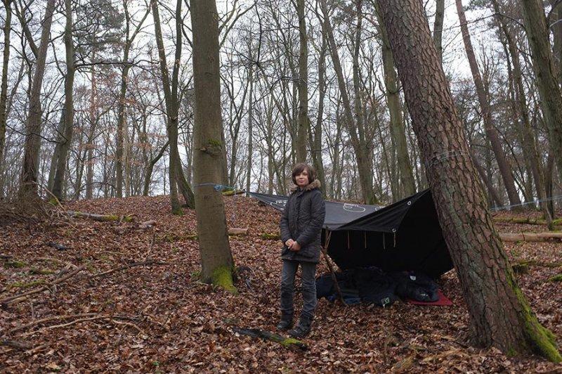 04 Wühlmaus-Camp im Wald - Moritz